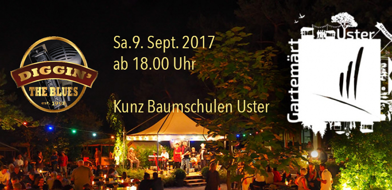 Don't miss Blues at the Gartenmärit