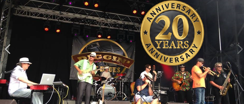 20 Years of Diggin' The Blues @ Gartemärit Uster